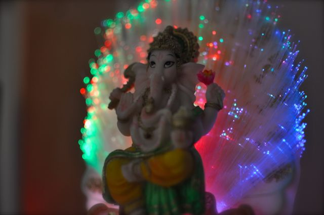 Ganesha night light