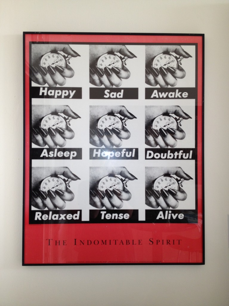 Barbara Kruger, The Indomitable Spirit